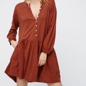 Free People beach linen dress